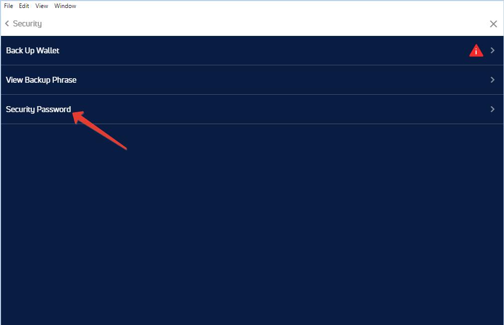Установка PIN на jaxx - шаг3